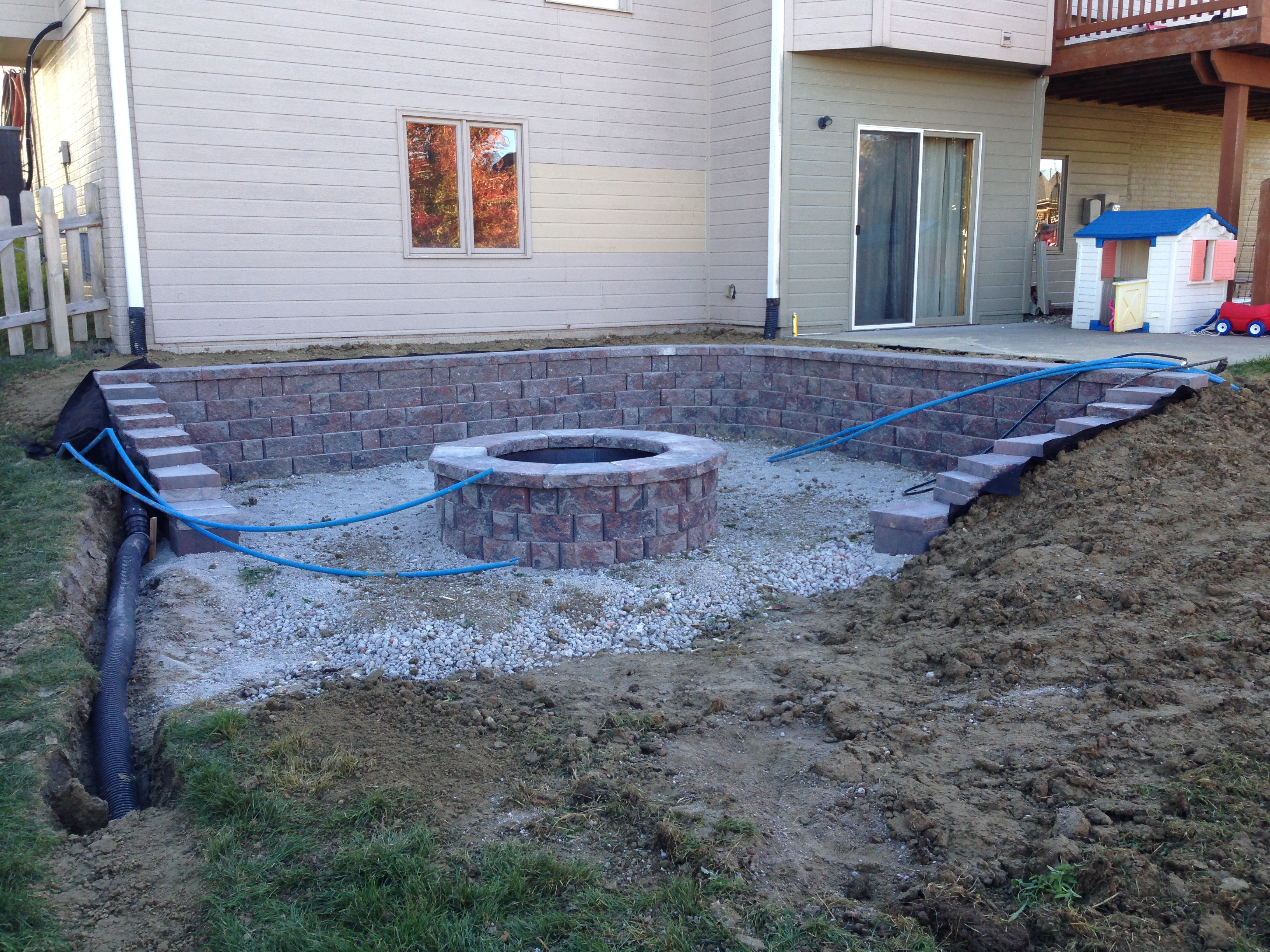Awesome Outdoor Living Omaha Water Drainage Concrete Retaining Download Free Architecture Designs Salvmadebymaigaardcom