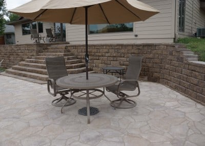 Patio & Retaining Wall Remodel