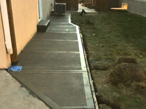 Concrete Walkway & Repair