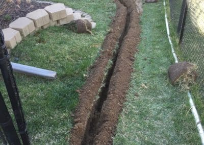 Custom Water Drainage System