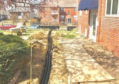 Condo Complex Water Drainage System