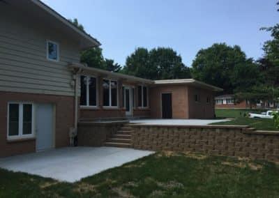 Retaining Wall & Concrete Patios