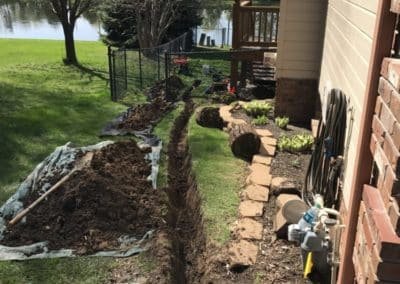 Elkhorn Water Drainage System